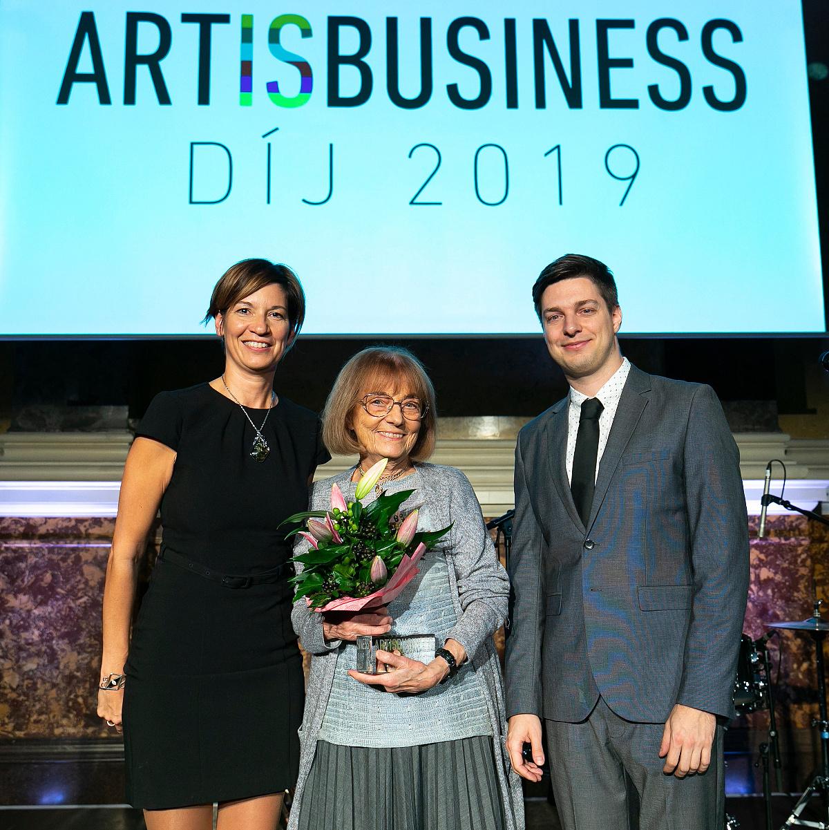 A kultúra támogatói – Első alkalommal adták át az Art is Business Díjakat
